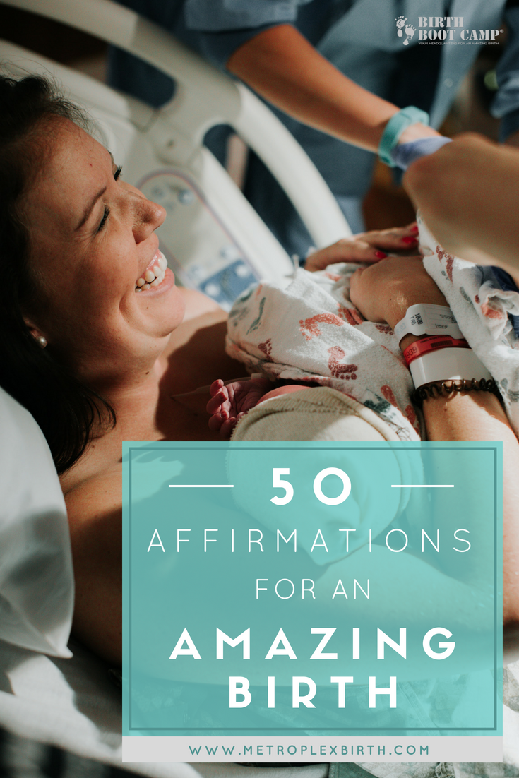 50 Affirmations for an Amazing Birth
